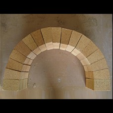 Firebrick Arch Section - 505mm x 340mm