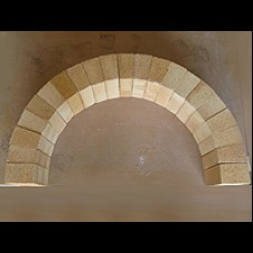 Firebrick Arch Section - 710mm x 430mm