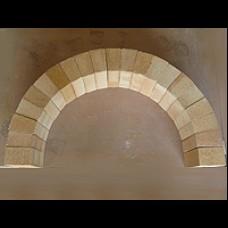 42GD Firebrick Arch Section - 710mm span Arch Internal Diameter